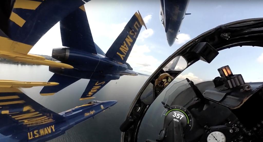 Les pilotes de l'US NAVY