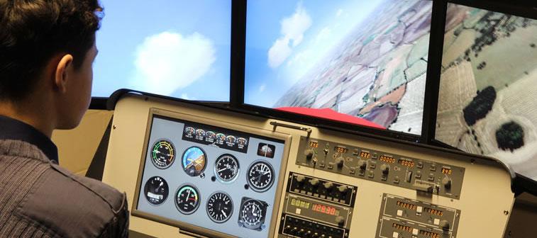 Quand le poster est plus efficace que le Full Flight Simulator !