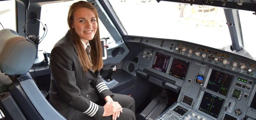 Les femmes commandants de bord