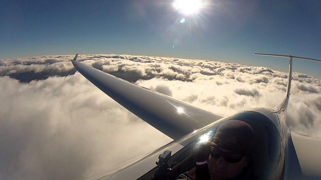 Why are gliders pilots more intelligent ?